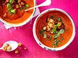Tomaten-Erdbeer-Suppe aus dem Ofen Rezept