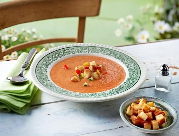 Tomaten-Gazpacho Rezept