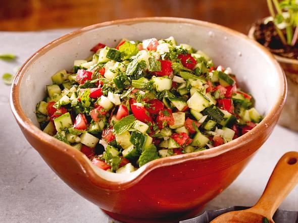 Tomaten-Gurken-Salat Rezept-F8589501