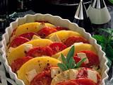 Tomaten-Kartoffel-Gratin zum Fleisch-Spieß Rezept