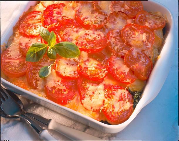 Tomaten-Kartoffel-Lasagne Rezept