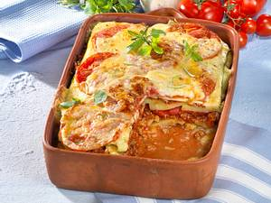 Tomaten-Kartoffel-Moussaka Rezept