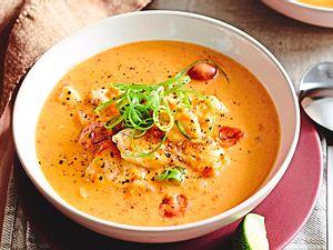"""Tomaten-Kokos-Suppe """"Fisch wie nix"""" Rezept"""