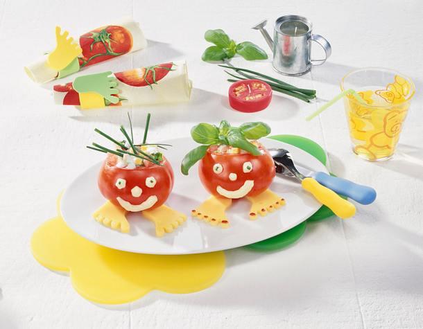 Tomaten-Männchen Rezept