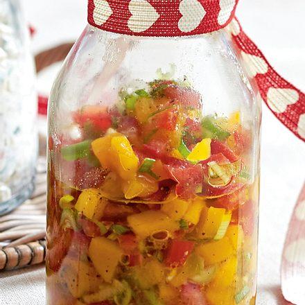 Tomaten-Mango-Salsa Rezept