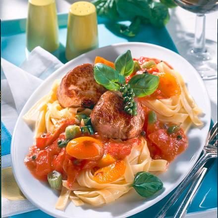 Tomaten-Medaillons Rezept