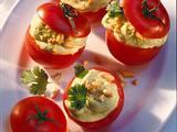 Tomaten mit Avocadocreme Rezept