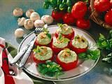 Tomaten mit Kräuter-Frischkäse Rezept