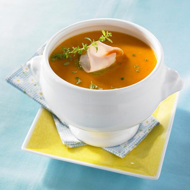 Tomaten-Möhren-Suppe Rezept