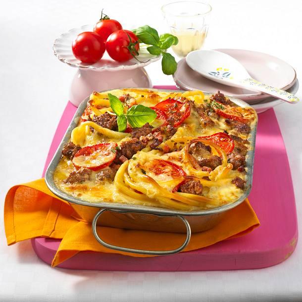 Tomaten-Mozzarella-Auflauf Rezept