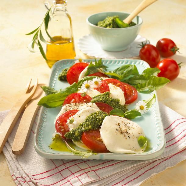 Tomaten-Mozzarella-Salat Rezept