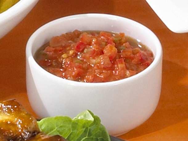 Tomaten-Paprika-Dip Rezept