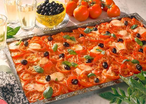 Tomaten-Pizza Rezept