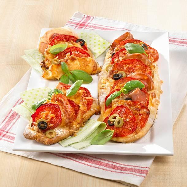 Tomaten-Pizza-Zungen Rezept