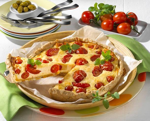 Tomaten-Quiche Rezept