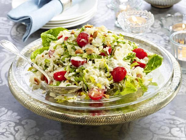 Tomaten-Reis-Salat mit Erdnüssen Rezept