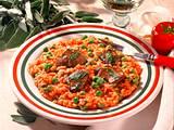 Tomaten-Risotto mit Hähnchenleber Rezept
