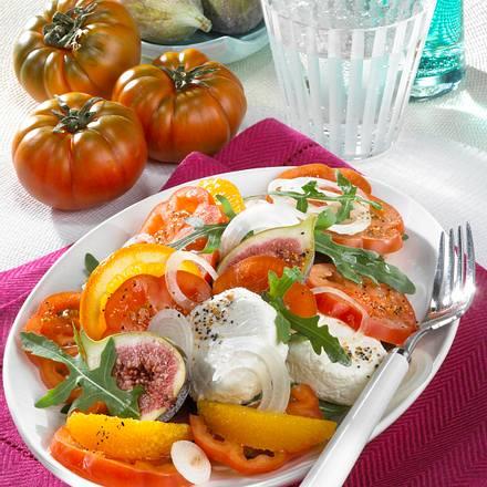 Tomaten-Rucolasalat Rezept
