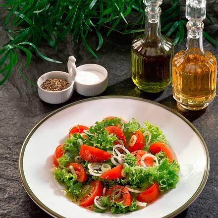 Tomaten-Salat-Teller Rezept