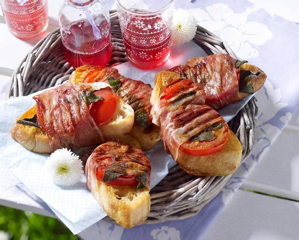 Tomaten-Schinken-Röstbrot Rezept