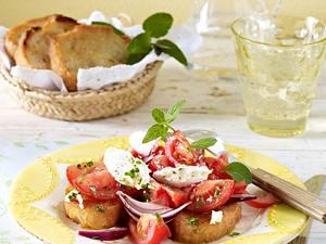 Tomaten-Schlemmerschnitte Rezept