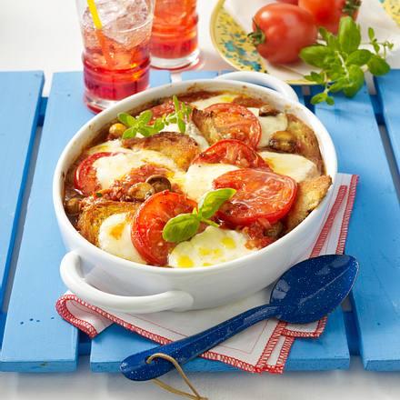 Tomaten-Schnitzel-Auflauf Rezept