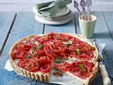 Tomaten-Tarte mit Gorgonzola-Creme Rezept