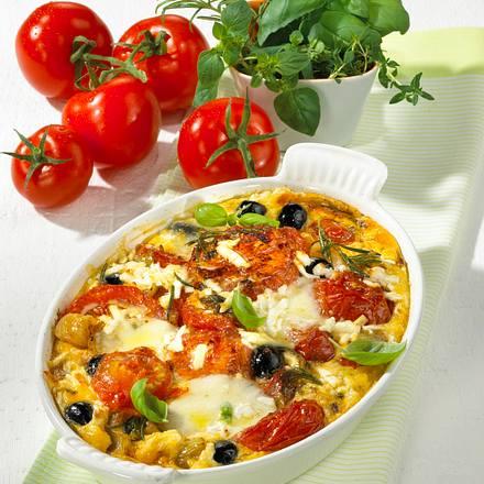 Tomaten-Tortilla aus dem Ofen Rezept