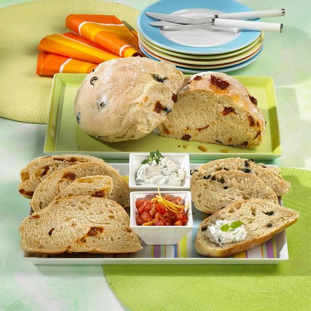 Tomaten- & Oliven-Ciabatta Rezept
