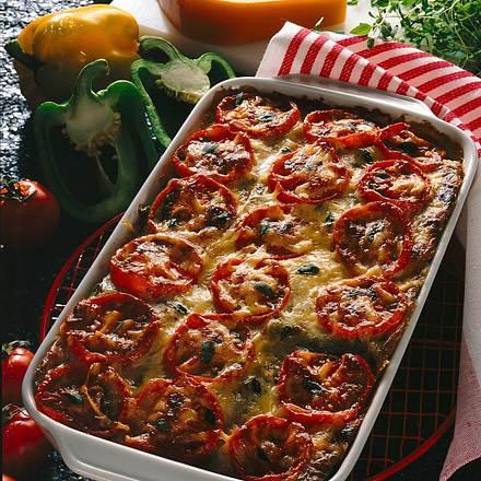 Tomaten-Vollkorn-Lasagne Rezept