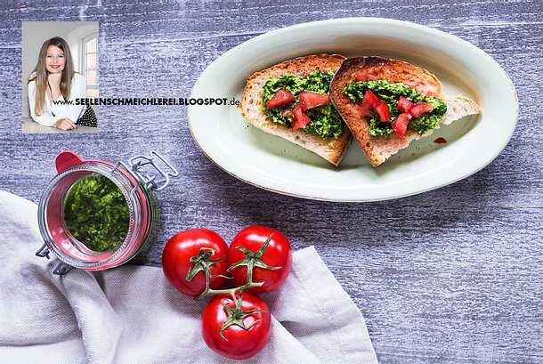 Tomatencrostini mit Bärlauchpesto Rezept