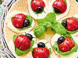 Tomatenmarienkäfer caprese Rezept