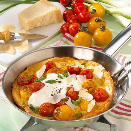 Tomatenpfannkuchen Rezept
