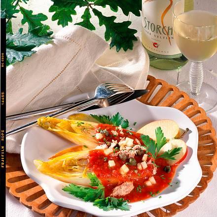 Tomatensoße zu Chicorée Rezept