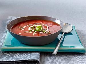 Tomatensuppe mit Basilikum (Vatertag) Rezept