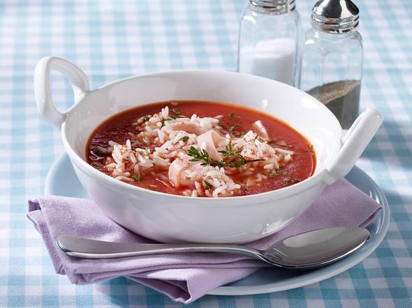 Tomatensuppe mit Reis (Diät) Rezept