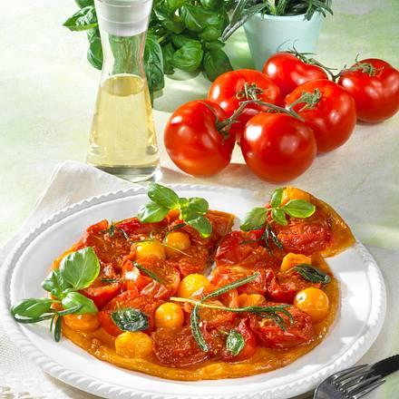 Tomatentarte mit Rosmarin Rezept