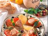Tomato Tonnato (Tomaten mit Thunflisch-Filets) Rezept