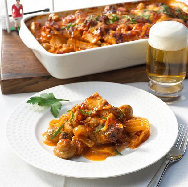 Torjäger-Chili-Schnitzel Rezept