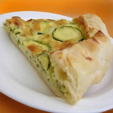 Torta di Zucchine Rezept