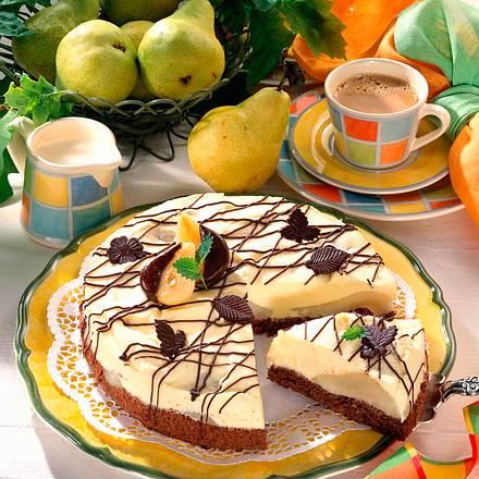Torte à la Birne Helene Rezept