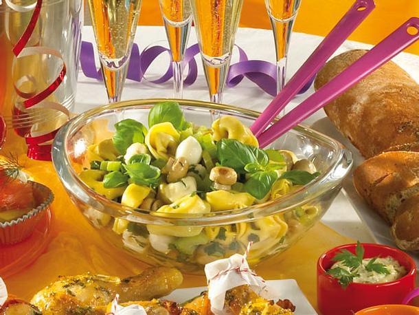 Tortellini-Mozzarella-Salat Rezept