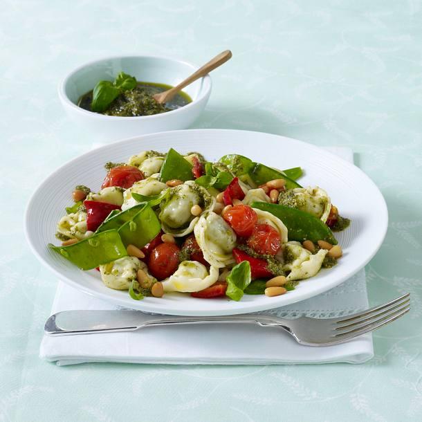 Tortellini-Pesto-Pfanne (Diäko Tag 4 zwischendurch) Rezept