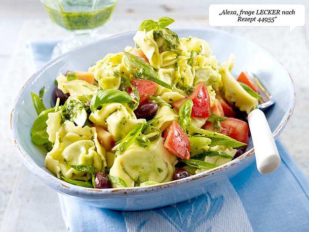 Tortellini-Salat mit Pesto und Tomaten Rezept
