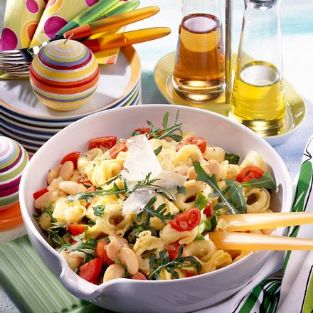 Tortellini-Salat mit Rucola Rezept