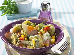 Tortellinisalat mit Grüner Soße Rezept
