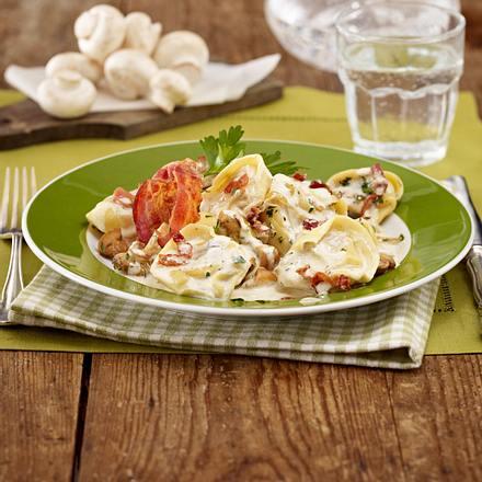 Tortelloni in Kräuter-Frischkäse-Soße Rezept