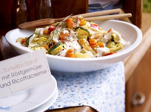 Tortelloni-Salat mit Röstgemüse Rezept
