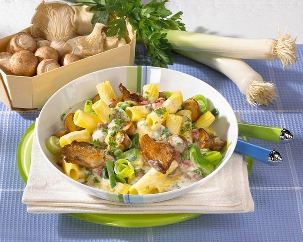 Tortiglioni mit Pilzsoße Rezept