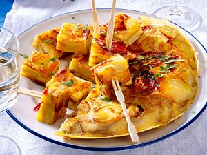 Tortilla mit Chorizo Rezept